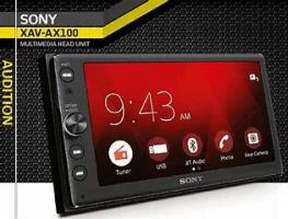 Sony XAV-AX100 connectivity
