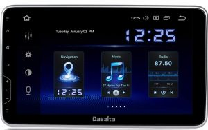 Dasaita 10 inch Rotatable Screen 2din Android 9.0 Car Stereo for Universal Radio GPS DSP System 4G Ram 64G ROM Bluetooth 5.0 15Band EQ Navigat