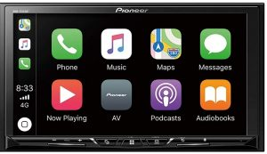 "Pioneer DMH-Z5150BT 7"" WVGA Display, Apple CarPlay, Android Auto, Built-in Bluetooth, AppRadio Mode, Pandora, Spotify, MIXTRAX, USB/AUX Digital Multimedia Video Receiver / Free"