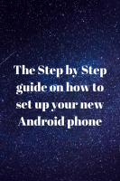 set up your new Android phone